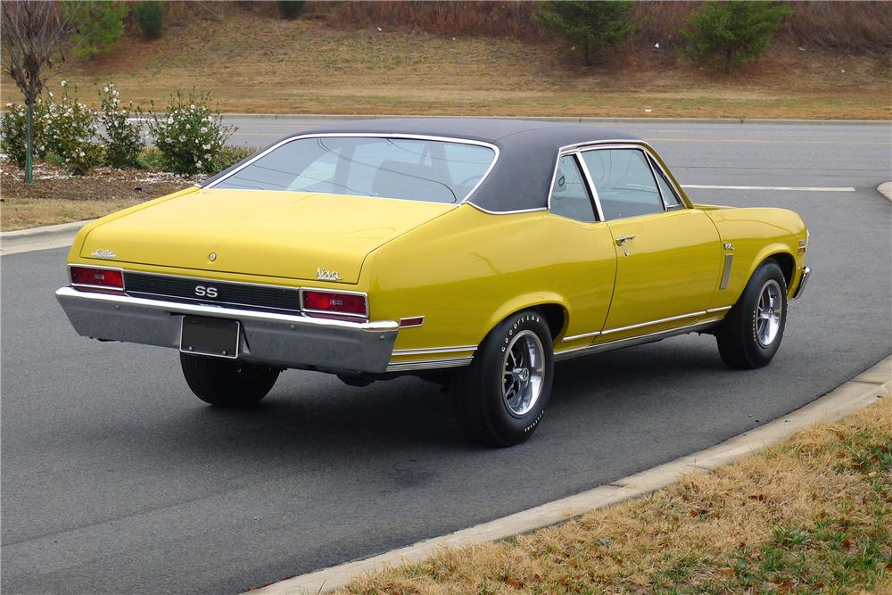 1970 CHEVROLET NOVA SS COUPE - Rear 3/4 - 139291
