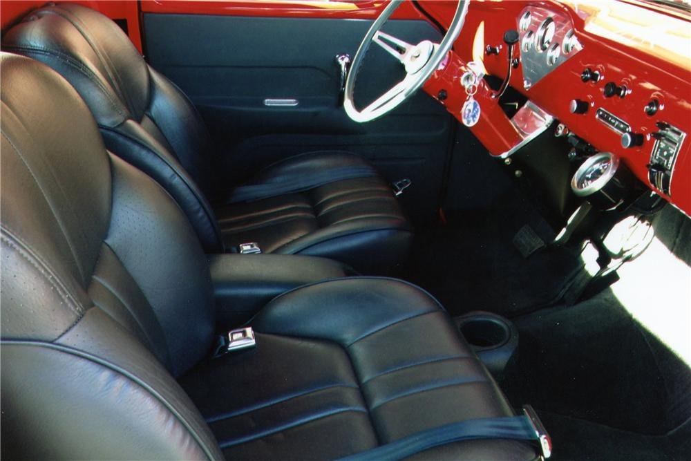 1956 CHEVROLET 3100 CUSTOM PICKUP - Interior - 139294