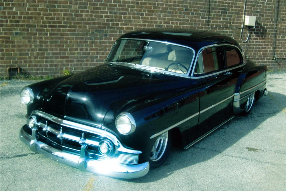 1953 chevrolet bel air custom 2 door post 139296 for 1953 chevrolet belair 4 door