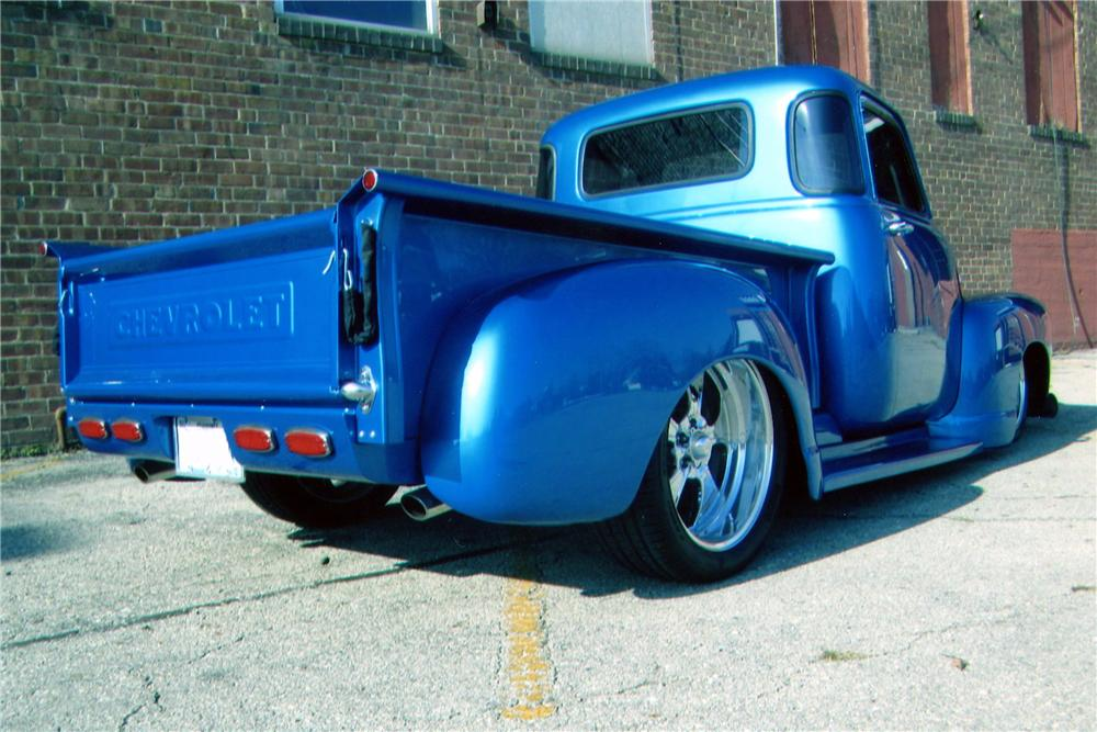 1953 CHEVROLET 3100 CUSTOM PICKUP - Rear 3/4 - 139297