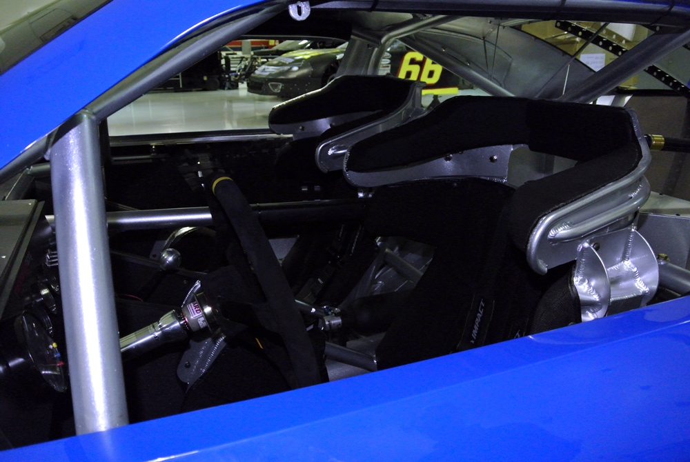 2012 FORD MUSTANG GT NASCAR RACE CAR - Interior - 139300
