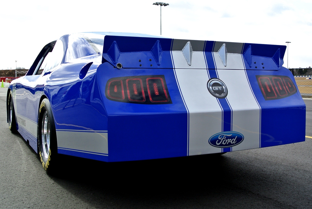2012 FORD MUSTANG GT NASCAR RACE CAR - Rear 3/4 - 139300