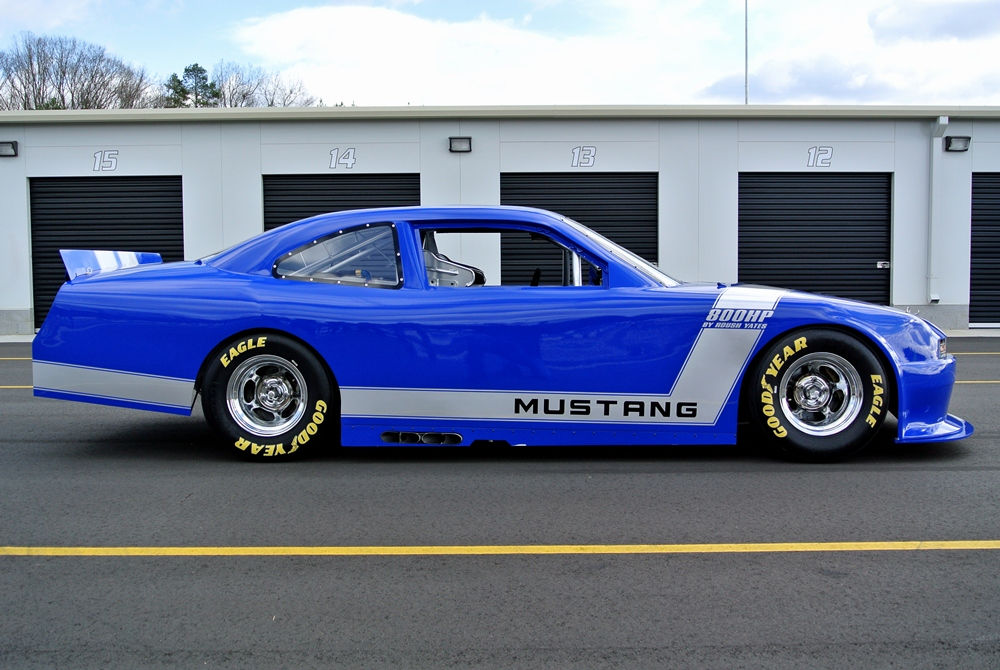 2012 FORD MUSTANG GT NASCAR RACE CAR - Side Profile - 139300