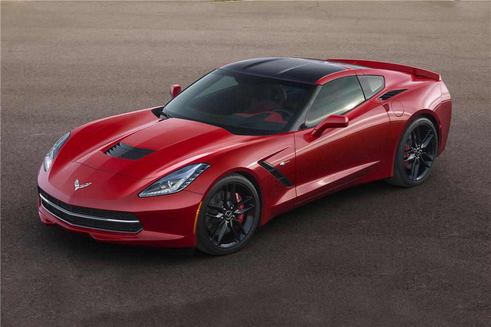 2014 CHEVROLET CORVETTE STINGRAY 2 DOOR COUPE - Side Profile - 139303