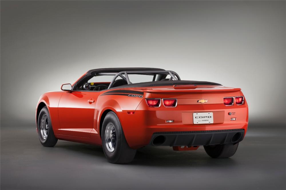 2012 CHEVROLET CAMARO COPO CONVERTIBLE - Rear 3/4 - 139304