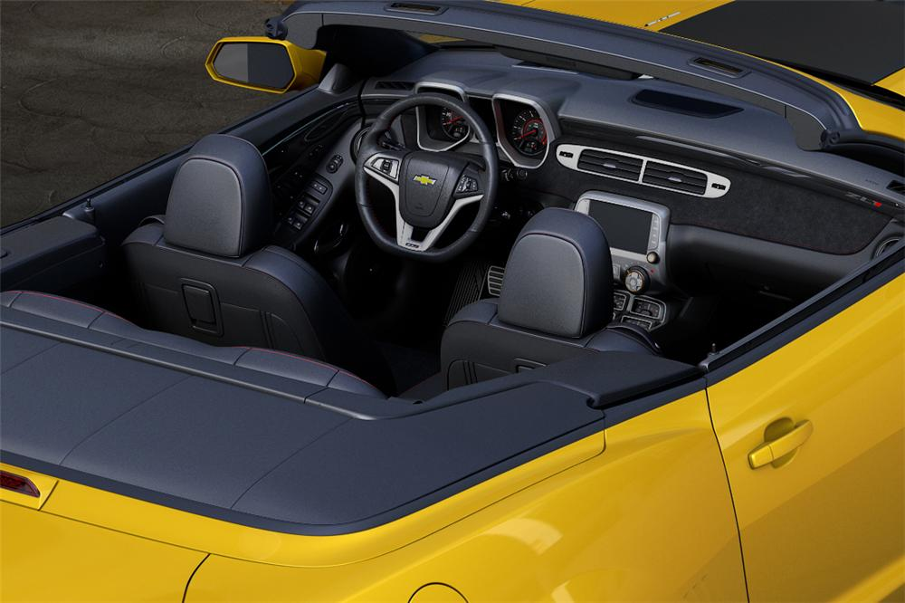 2013 CHEVROLET CAMARO ZL1 CONVERTIBLE - Interior - 139306