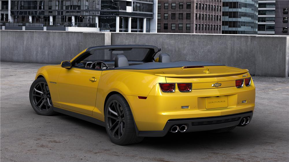 2013 CHEVROLET CAMARO ZL1 CONVERTIBLE - Rear 3/4 - 139306