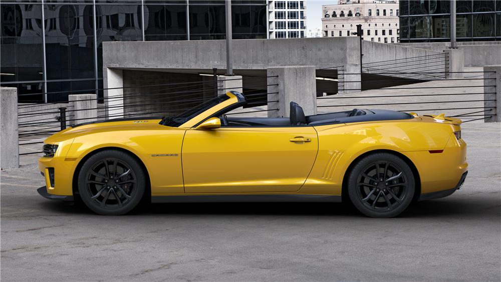 2013 CHEVROLET CAMARO ZL1 CONVERTIBLE - Side Profile - 139306