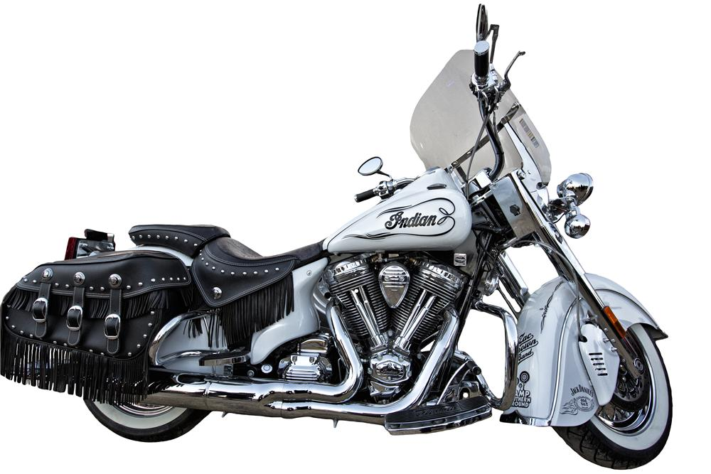 2010 INDIAN CHIEF VINTAGE CUSTOM MOTORCYCLE - Front 3/4 - 139308
