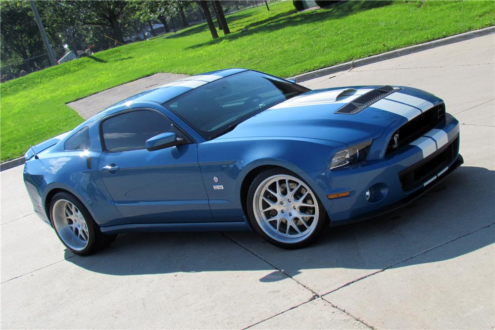 2013 SHELBY GT500 COBRA FASTBACK - Front 3/4 - 139311