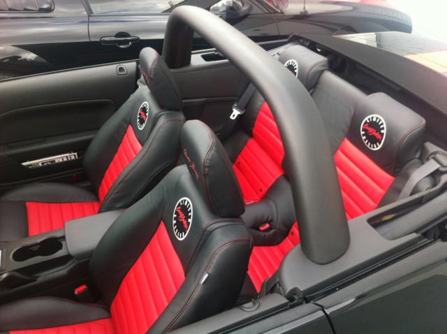 2008 SHELBY GT BARRETT-JACKSON EDITION - Interior - 139329