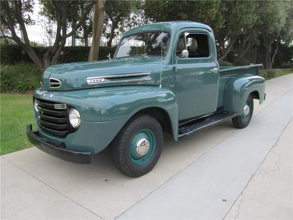 1949 FORD F-1 PICKUP - Front 3/4 - 139344