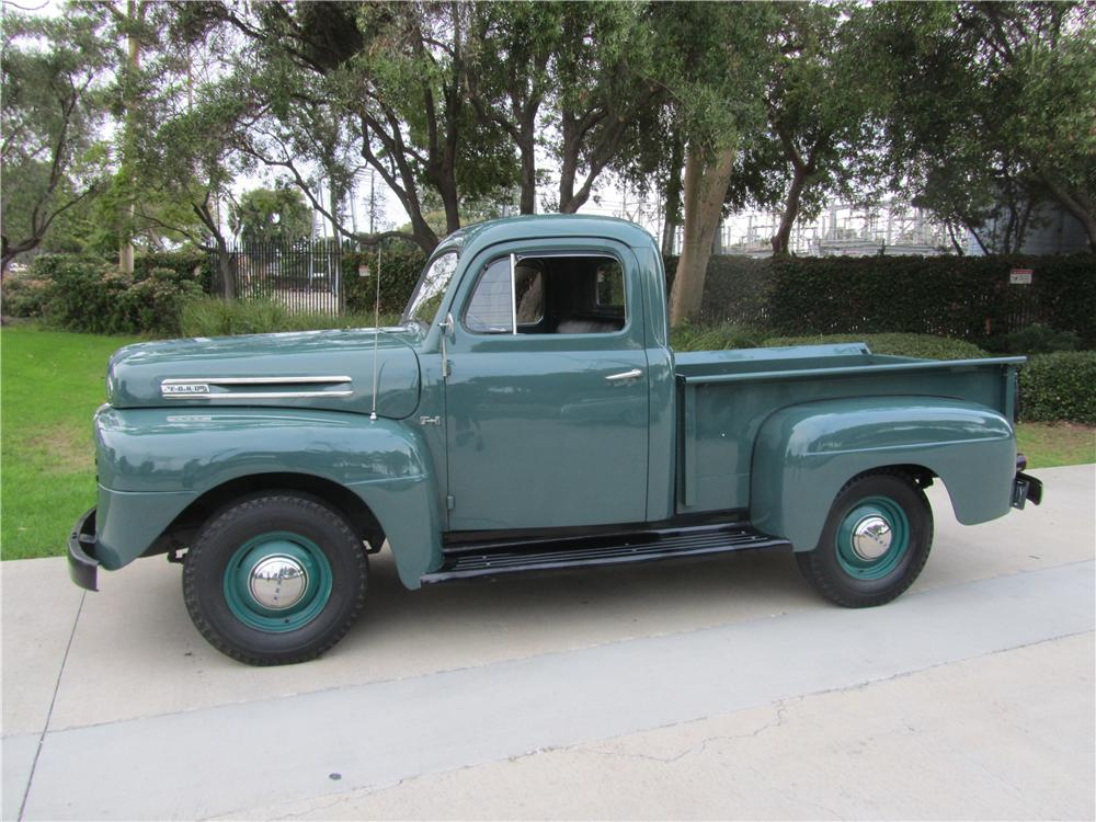 1949 FORD F-1 PICKUP - Side Profile - 139344