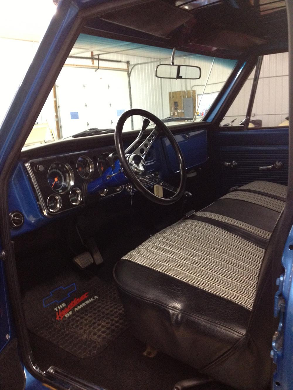 1968 GMC CUSTOM PICKUP - Interior - 139346