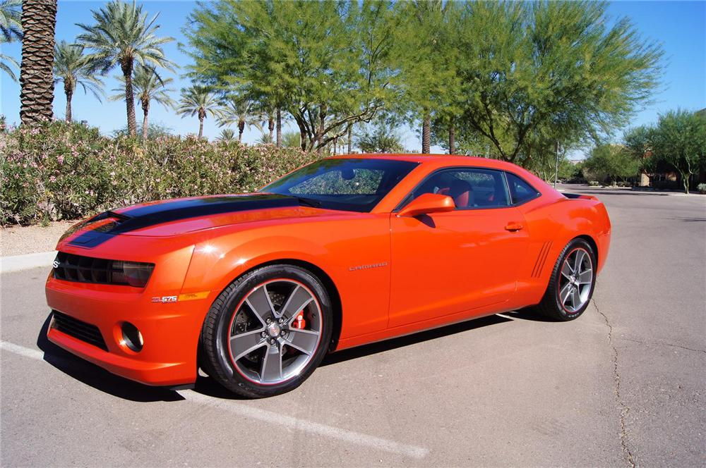 2010 CHEVROLET CAMARO 2 DOOR COUPE - Side Profile - 139349