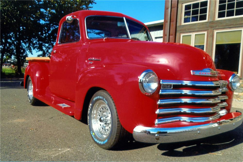 1950 CHEVROLET 5 WINDOW CUSTOM PICKUP - Front 3/4 - 139358