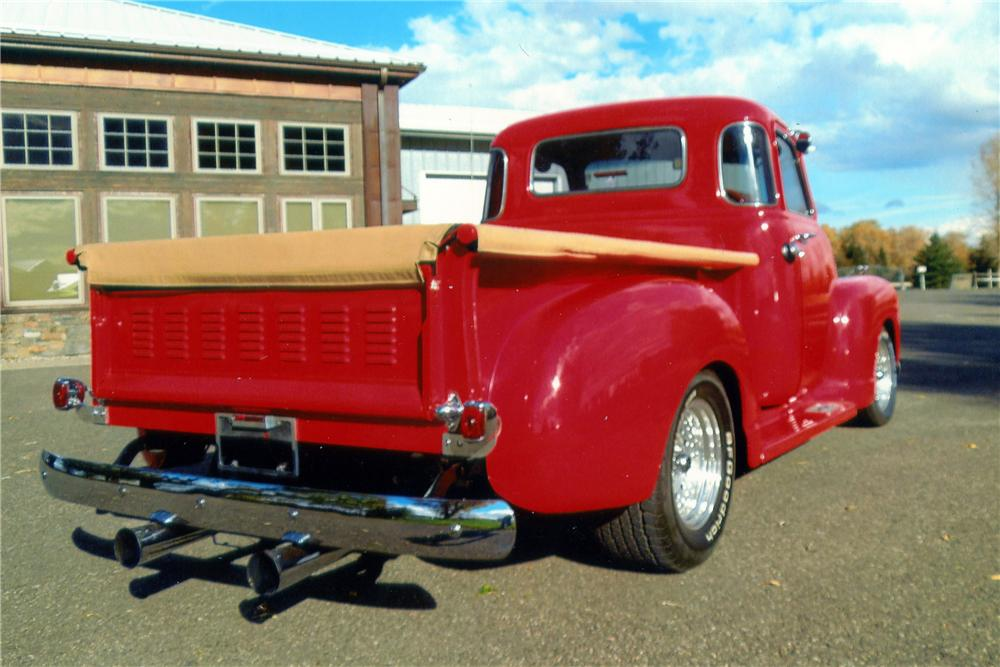 1950 chevrolet 5 window custom pickup 139358