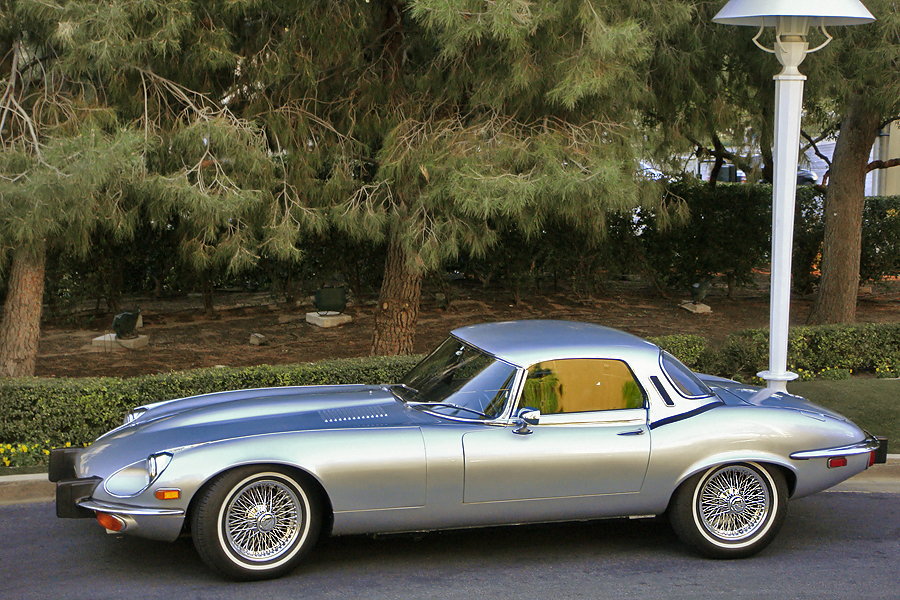 1974 JAGUAR XKE SERIES III ROADSTER - Side Profile - 139370