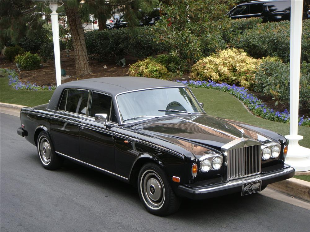 Rolls Royce Car Model Silver Shadow Year