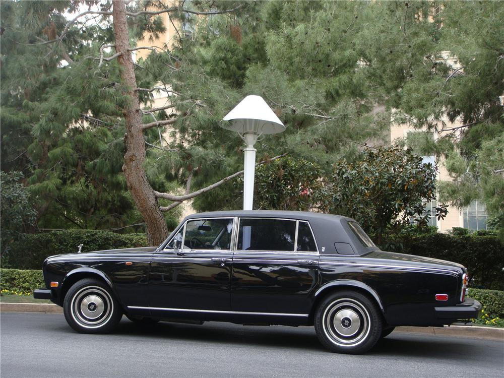 1978 ROLLS-ROYCE SILVER WRAITH 4 DOOR LUXURY SEDAN - Side Profile - 139372