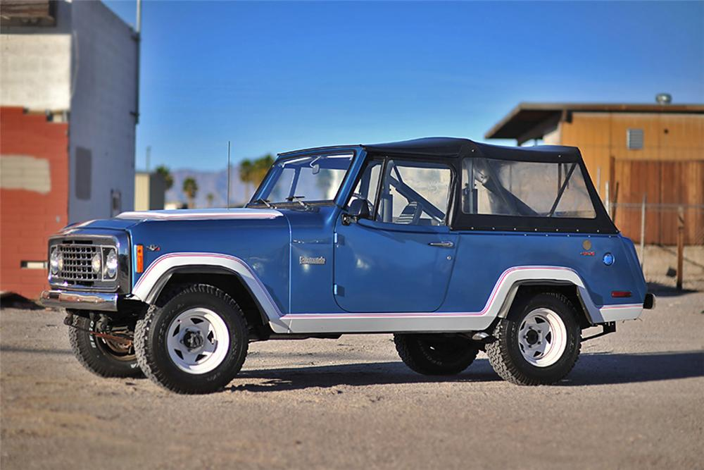 1972 JEEP COMMANDO CONVERTIBLE - Front 3/4 - 139374