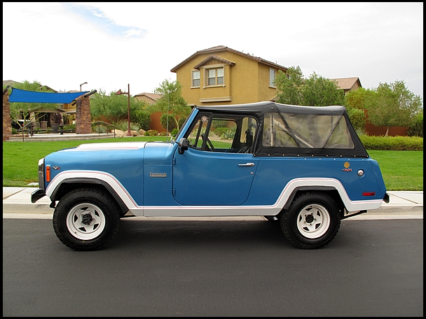1972 JEEP COMMANDO CONVERTIBLE - Side Profile - 139374