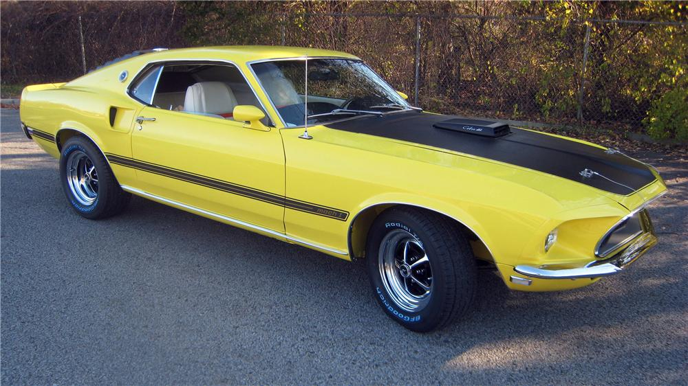 1969 FORD MUSTANG MACH 1 FASTBACK - Front 3/4 - 139375