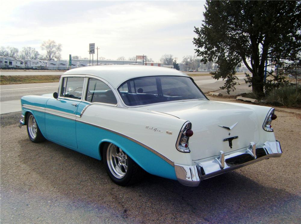 1956 chevrolet bel air custom 2 door coupe 139377. Black Bedroom Furniture Sets. Home Design Ideas