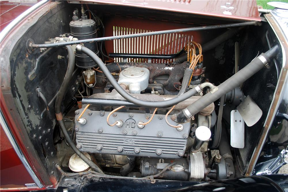 1929 LASALLE CONVERTIBLE - Engine - 139380