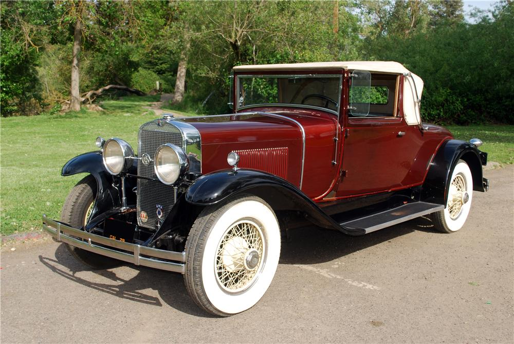 1929 LASALLE CONVERTIBLE - Front 3/4 - 139380