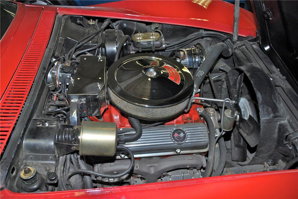 1969 CHEVROLET CORVETTE CONVERTIBLE - Engine - 139381