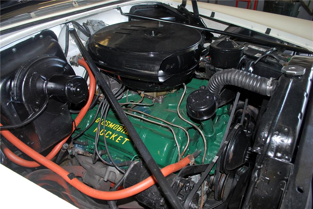 1955 OLDSMOBILE 88 CONVERTIBLE - Engine - 139382