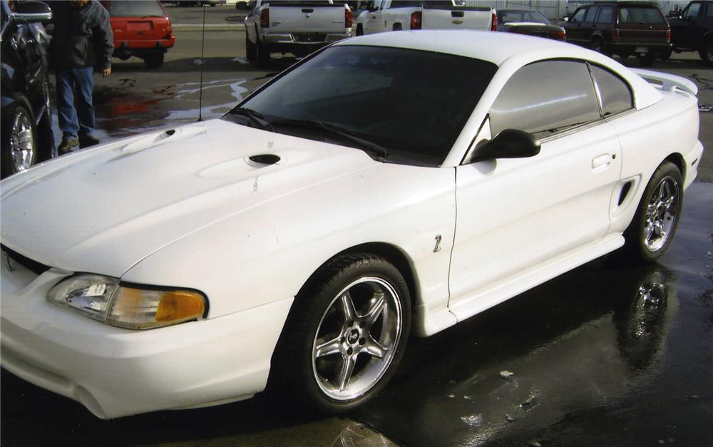 1998 FORD MUSTANG COBRA SVT 2 DOOR COUPE - Side Profile - 139386