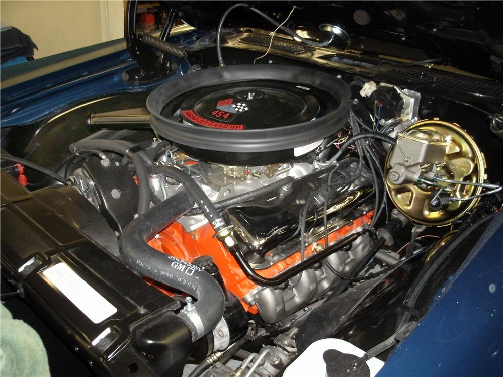 1970 CHEVROLET CHEVELLE LS6 CONVERTIBLE - Engine - 139390