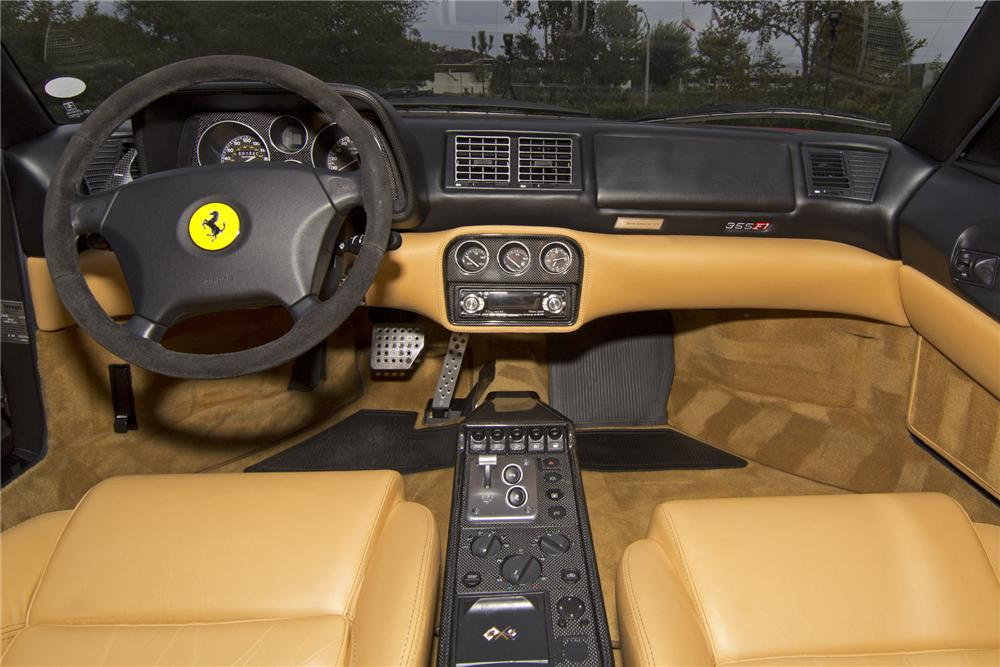 1999 FERRARI 355 SPIDER CONVERTIBLE - Interior - 139392