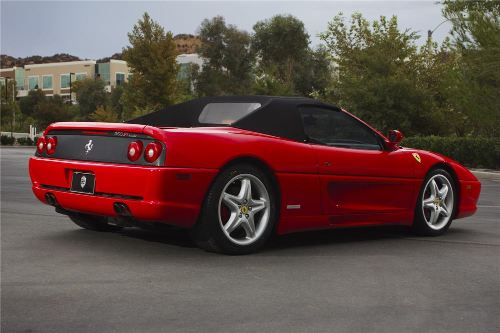 1999 FERRARI 355 SPIDER CONVERTIBLE - Rear 3/4 - 139392