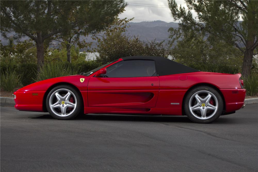 1999 FERRARI 355 SPIDER CONVERTIBLE - Side Profile - 139392