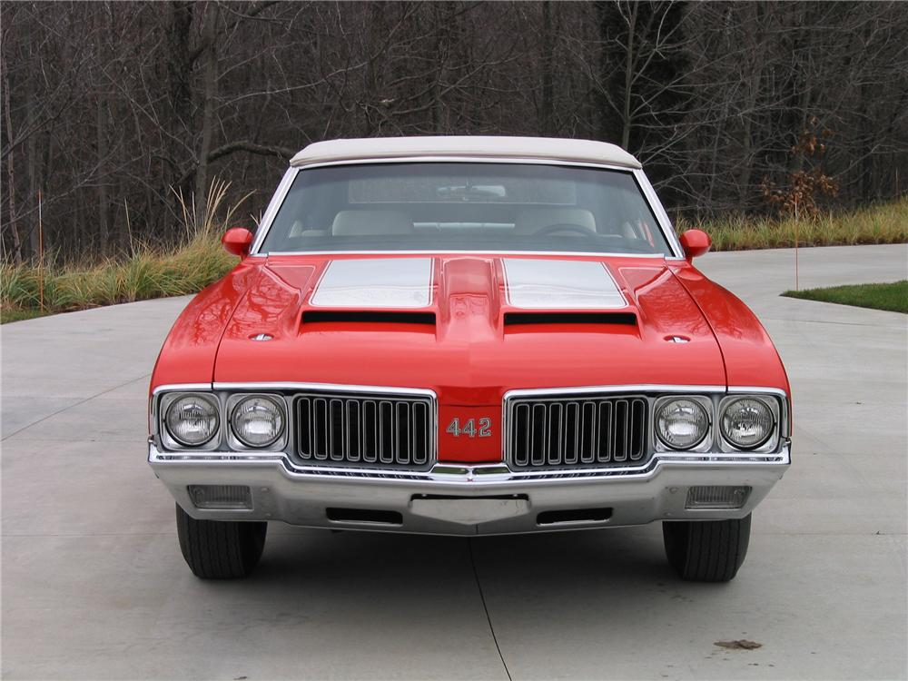 1970 OLDSMOBILE 442 CONVERTIBLE - Engine - 139422