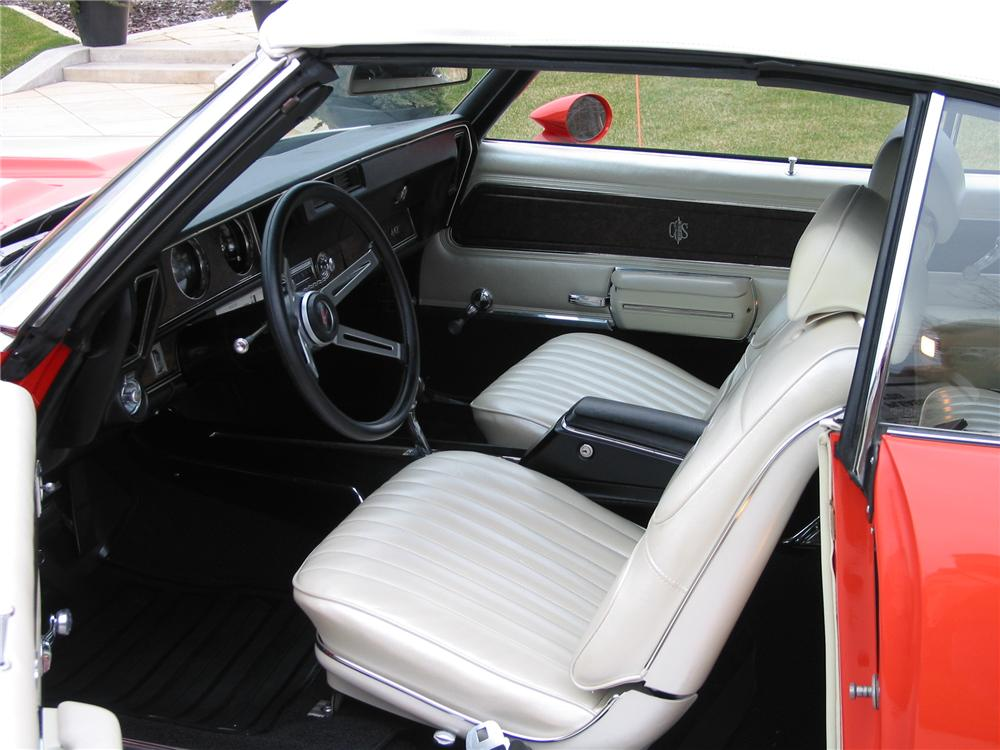 1970 OLDSMOBILE 442 CONVERTIBLE - Interior - 139422