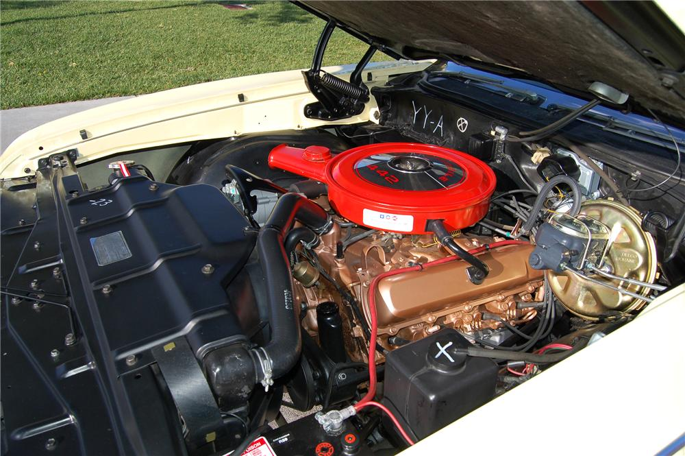 1968 OLDSMOBILE 442 2 DOOR COUPE - Engine - 139423