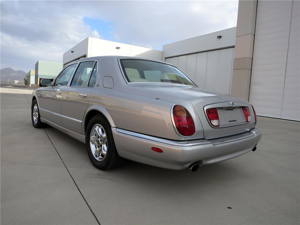 1999 BENTLEY ARNAGE GREEN LABEL 4 DOOR SEDAN - Rear 3/4 - 139424