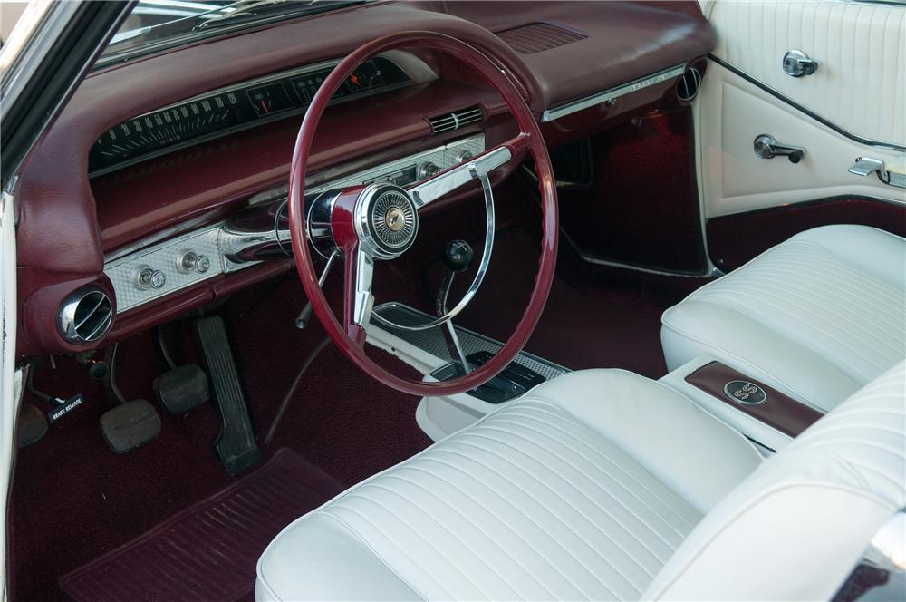 1964 CHEVROLET IMPALA SS 2 DOOR COUPE - Interior - 139429