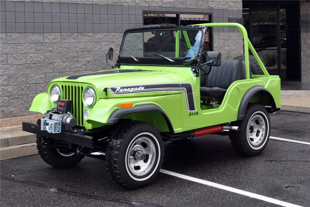 New Jeep Renegade >> 1974 JEEP RENEGADE CJ5 - 139433