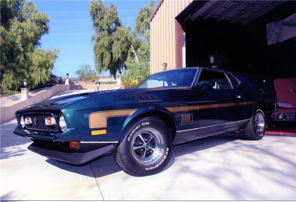 1971 FORD MUSTANG MACH 1 FASTBACK - Front 3/4 - 139448