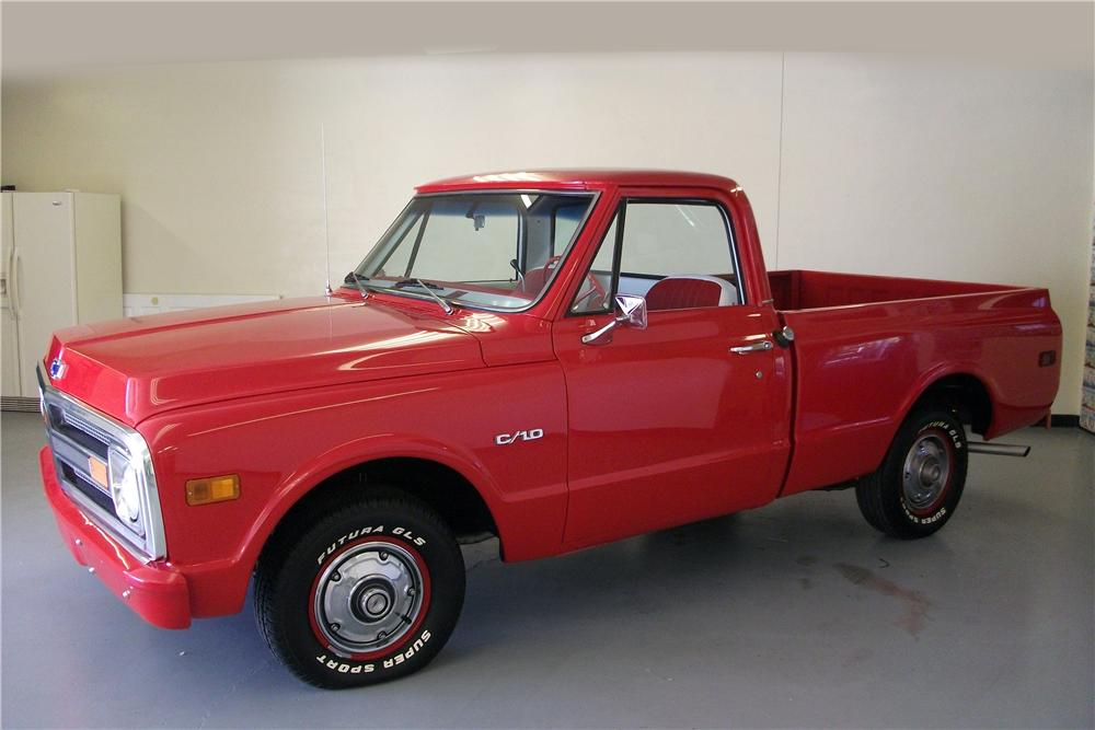 1970 CHEVROLET C-10 PICKUP - Front 3/4 - 139453