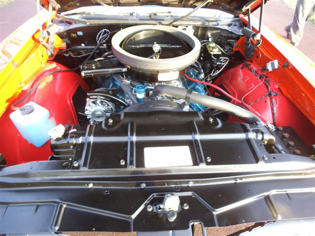1970 OLDSMOBILE 442 W30 CONVERTIBLE - Engine - 139469