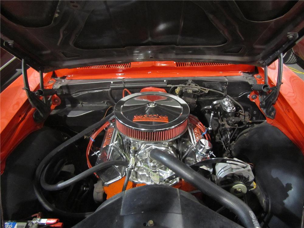 1967 CHEVROLET CAMARO 2 DOOR COUPE - Engine - 139472