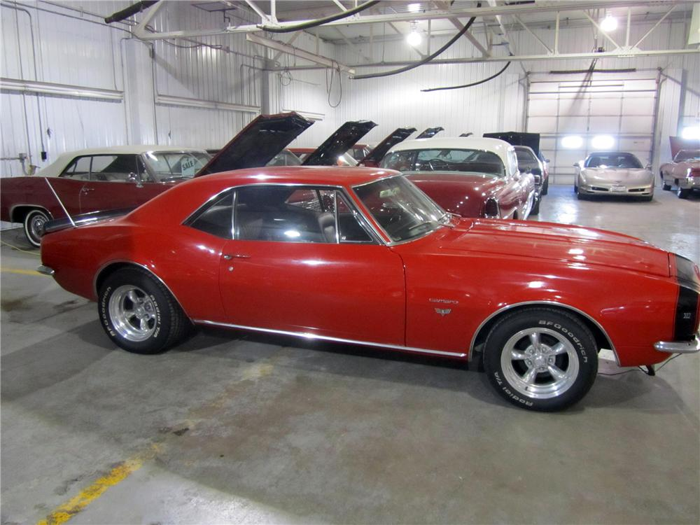 1967 CHEVROLET CAMARO 2 DOOR COUPE - Side Profile - 139472