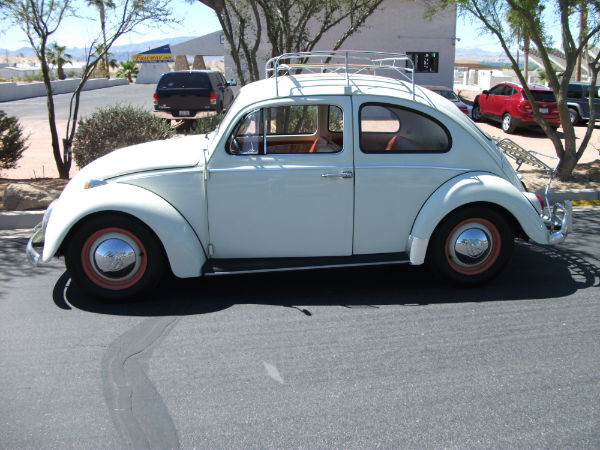 1964 VOLKSWAGEN BEETLE 2 DOOR SEDAN - Side Profile - 139476