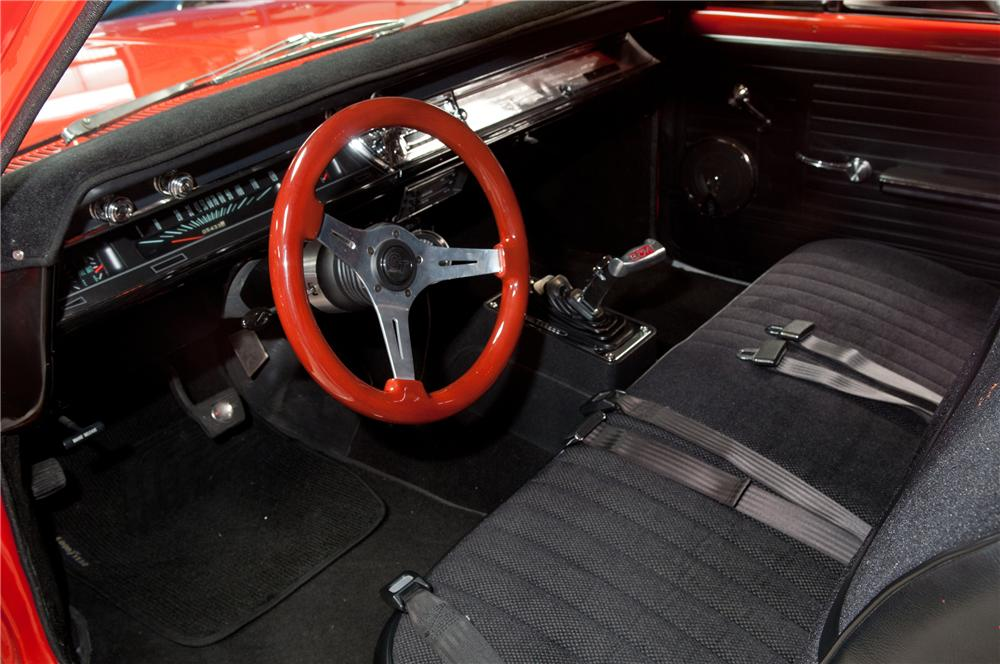 1967 CHEVROLET EL CAMINO CUSTOM PICKUP - Interior - 139480